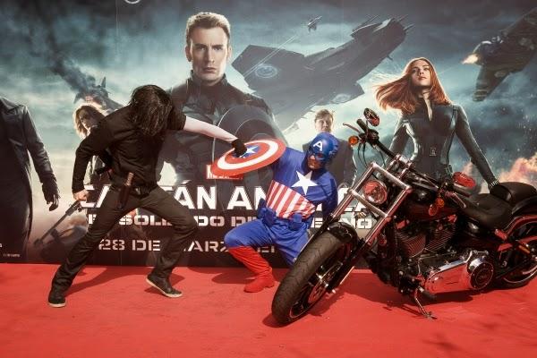 """22 de marzo Evento Fan en Madrid de """"Capitán América: El Soldado de Invierno"""""""