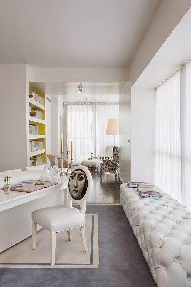 яркий дизайн интерьера дома в Панаме