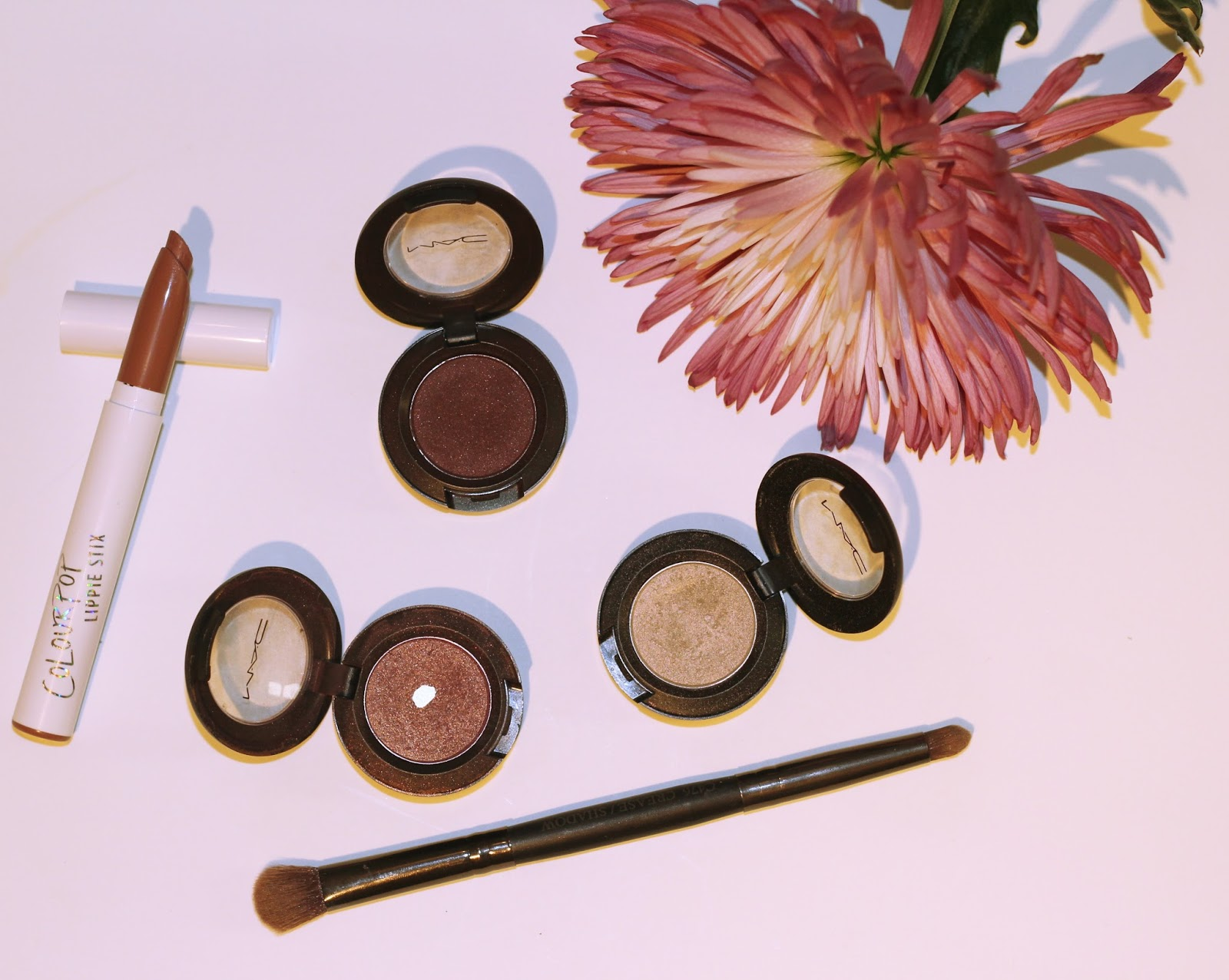 MAC eyeshadow and ColourPop Lipstick
