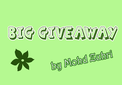 Big Giveaway by Mohd Zuhri