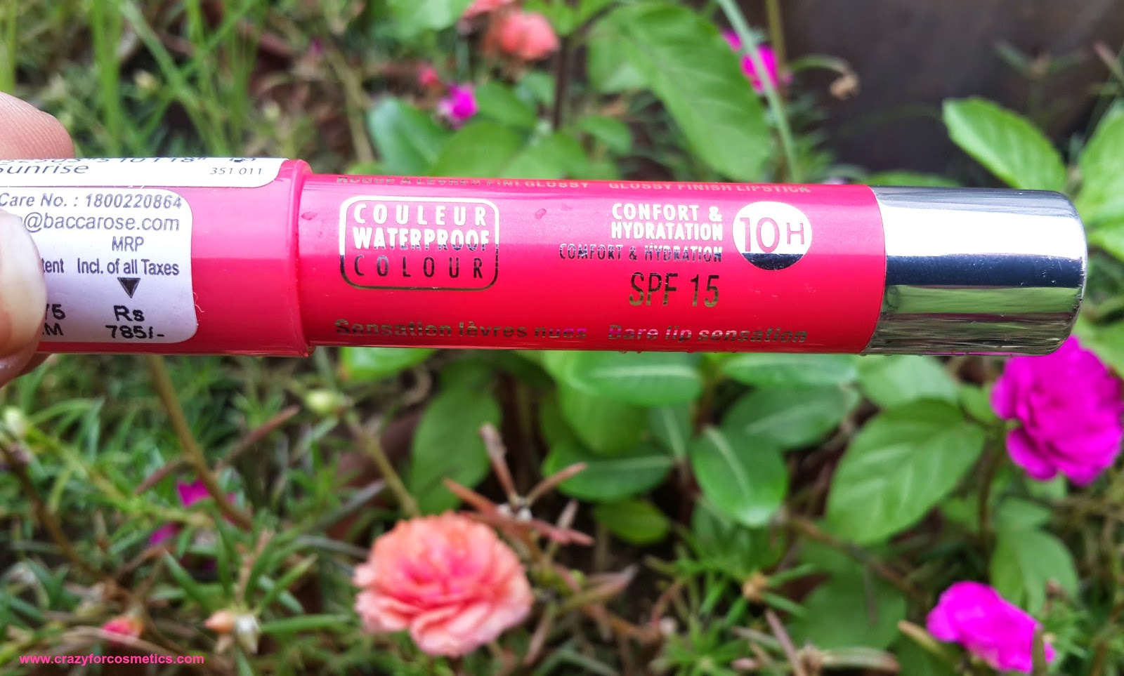 Bourjois Paris Color Boost Lip Crayon in Red Sunrise Shade