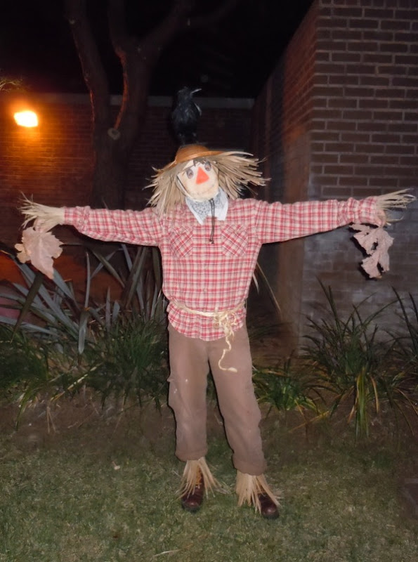 West Hollywood Halloween Carnaval scarecrow costume