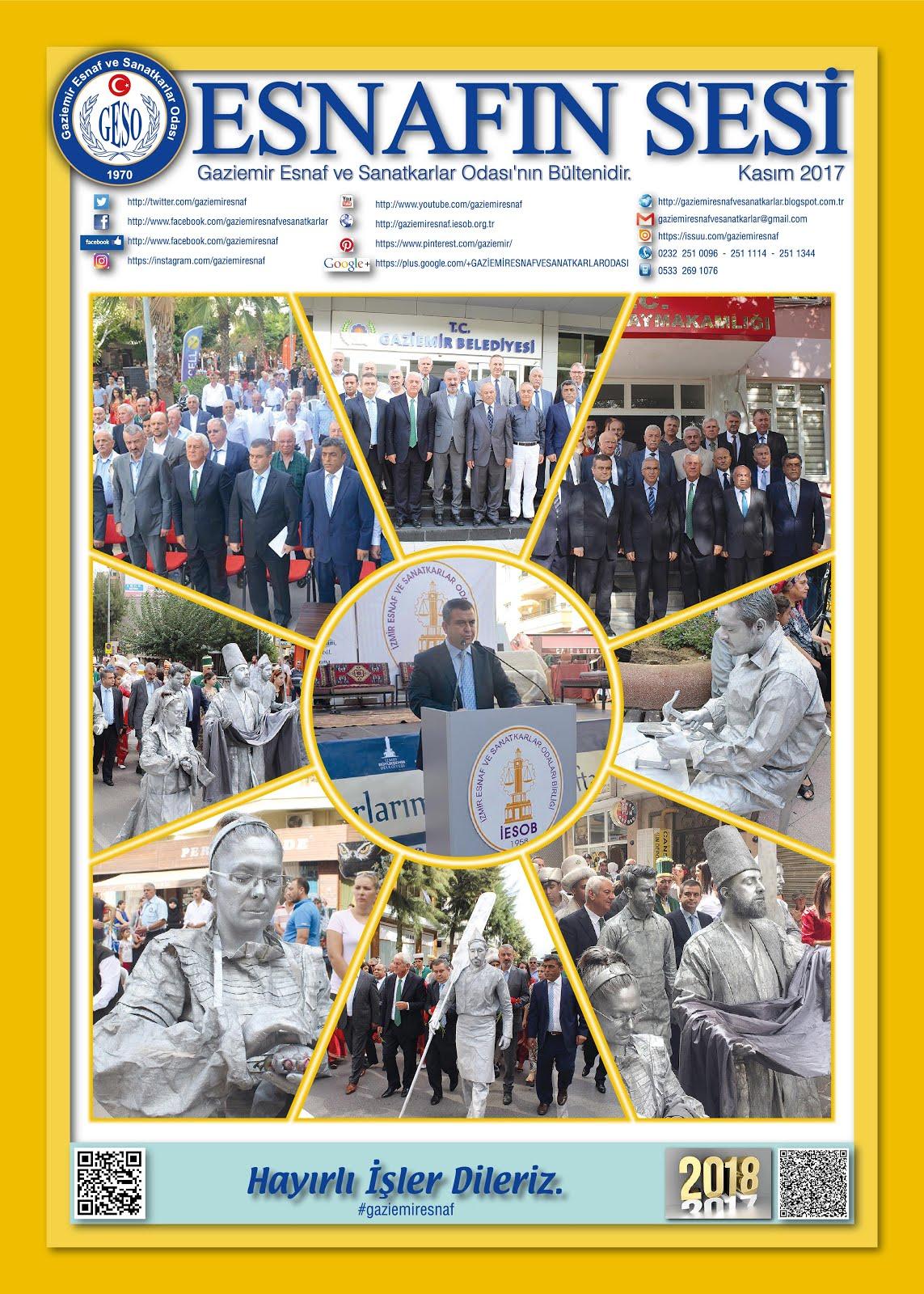 ESNAFIN SESİ - ARALIK 2017 -