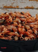 Krabbenschalen - Grundzutat für diese Krabbensuppe