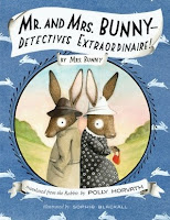 Cover art, Mr. and Mrs. Bunny, Detectives Extraordinaire