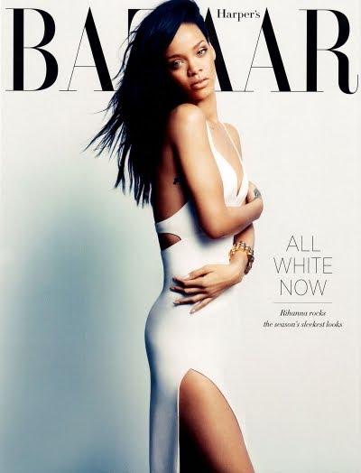 Harper's Bazaar Rihanna cover
