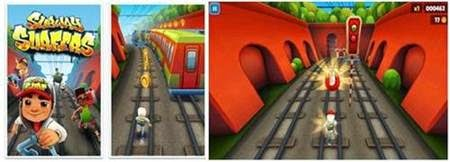 Game Android HD : Subway Surfers