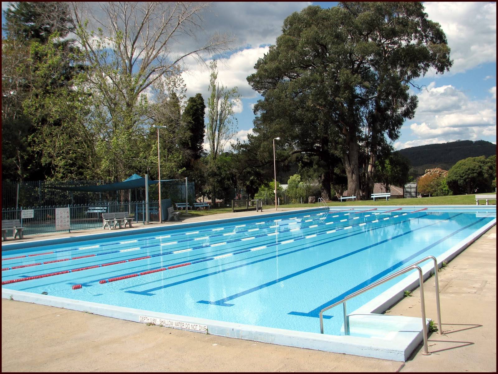 Belgrave pool for Outdoor swimming pool leicester