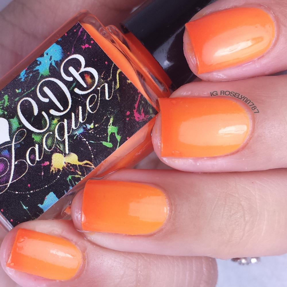 CDB Lacquer - Outgoing Orange