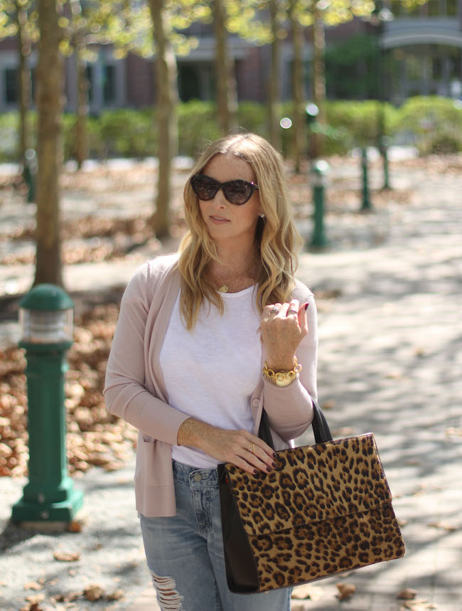 saint laurent sunnies, halogen sweater, boden handbag