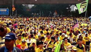 Sambutan Hari Kebangsaan terjejas kerana Bersih