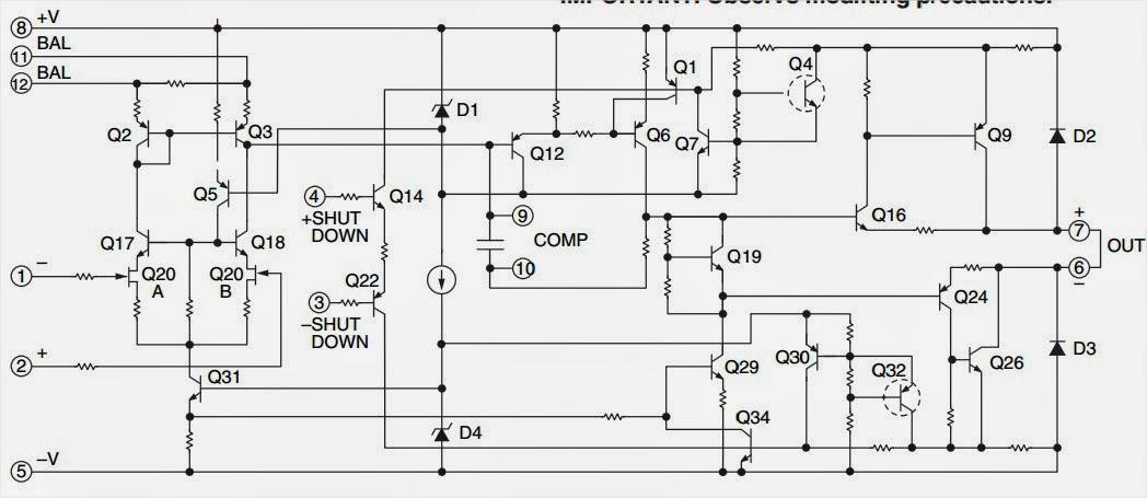 500w Power Operational Amplifier Amplifiercircuits Com