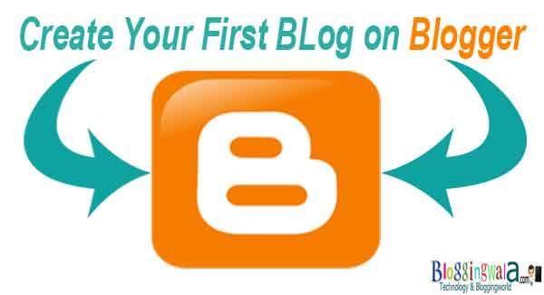 create blog on blogger