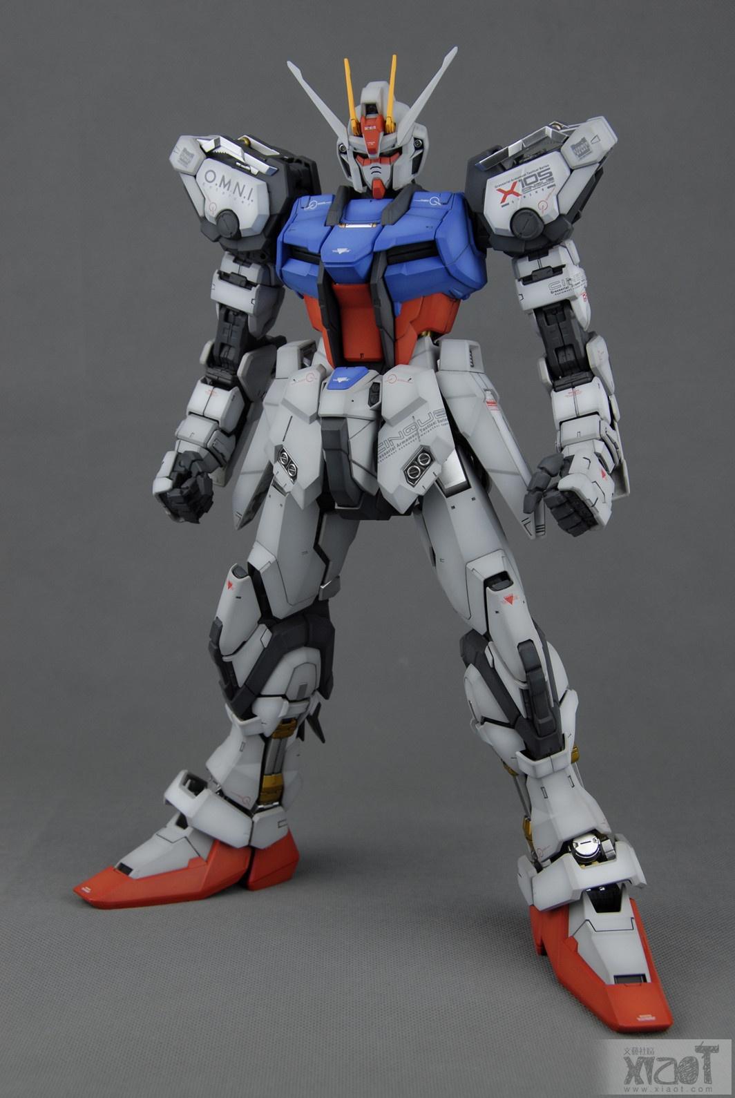 PG 1/60 GAT-X105 Strike Gundam [Aile Striker + Skygrasper
