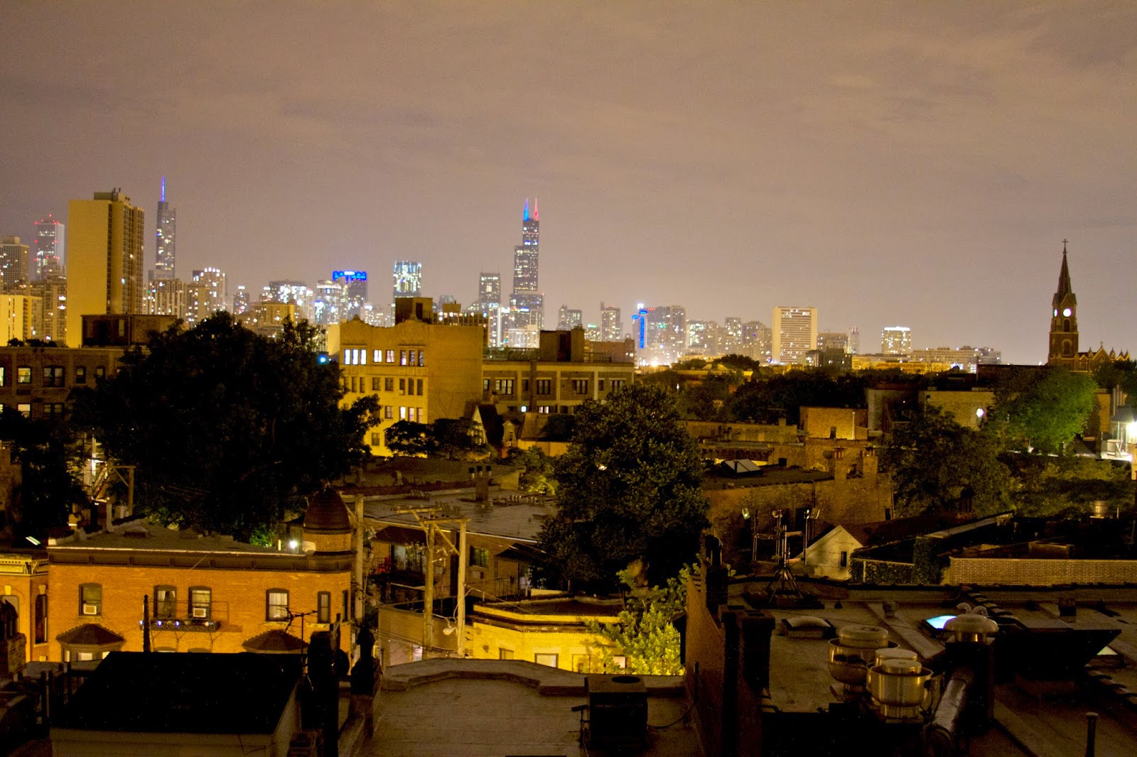Chicago at Night. Photo by Tammy Sue Allen Photography.