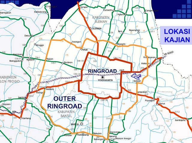 Outer ring road jogja