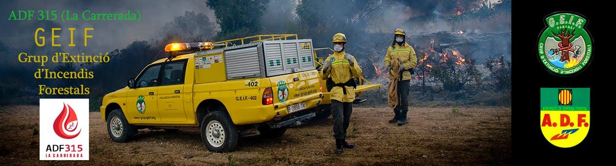 G.E.I.F. Grup d'Extinció d'Incendis Forestals