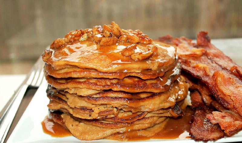 Creole Contessa: Sweet Potato Pie Pancakes with Pecan ...