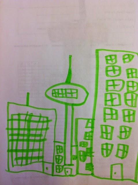 dessin ville CP