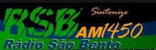 ouvir a Rádio São Bento AM 1450,0 São Bento do Sul SC
