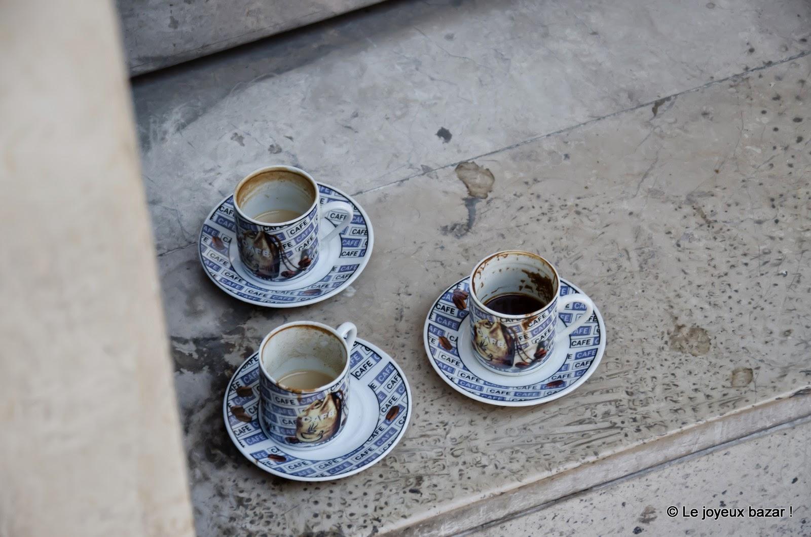 Istanbul - tasses à café