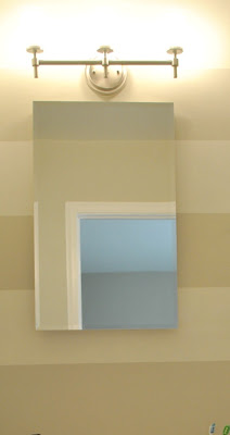 Simple Threshold Wall Mirror  Brown 24x36quot Product Details Page