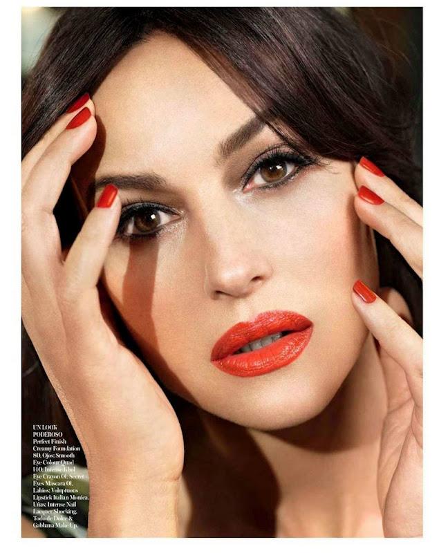 Smartologie Monica Bellucci For Vogue Spain May 2012