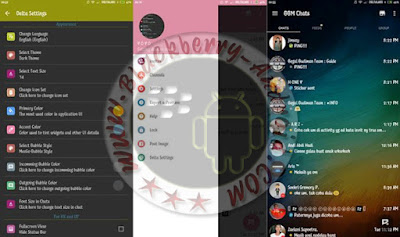 BBM Delta Mod Clone New Versi 2.10.0.35 Choose Themes Features
