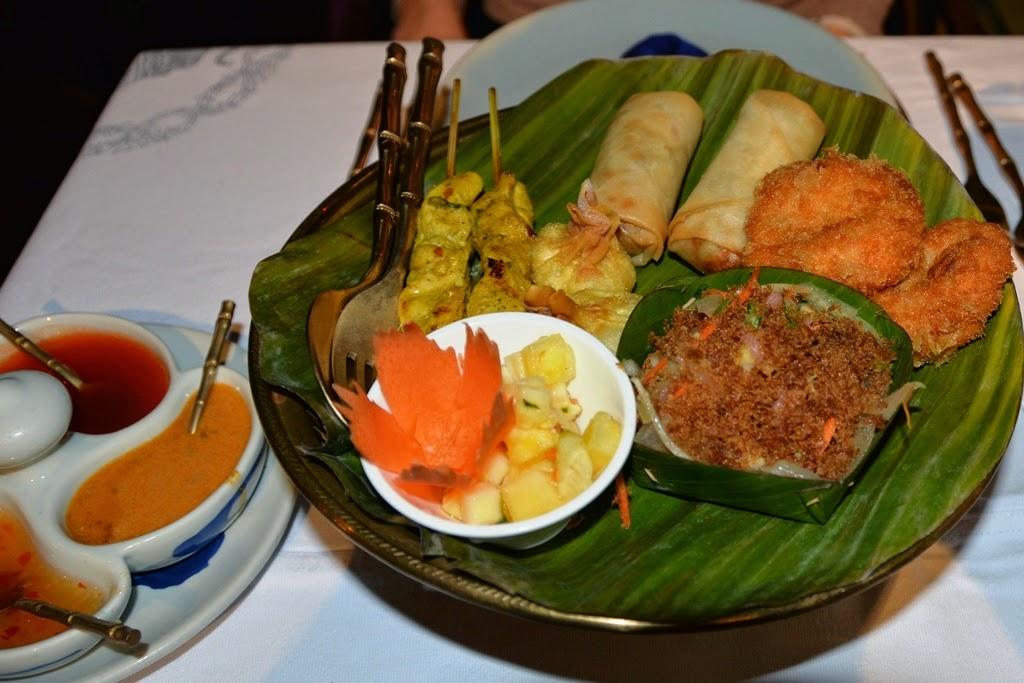 Restaurant Blue Elephant starters