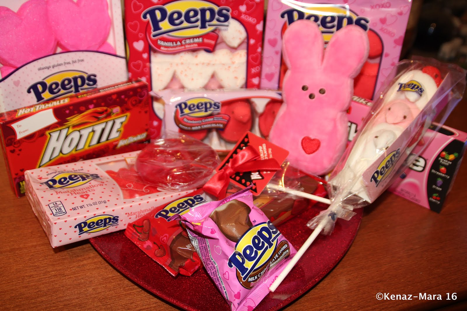 WIN a PEEPS & COMPANY® Valentine Gift Pack (Random Assortment of 5 Treats)