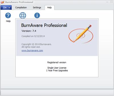BurnAware Professional v7.4 Pre-Activated