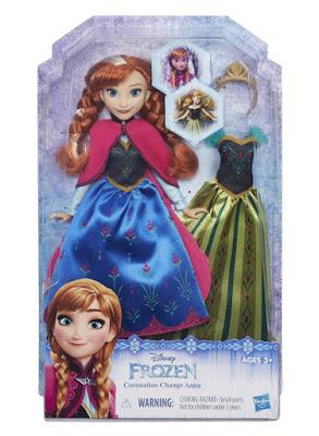TOYS : JUGUETES Disney Frozen  Coronation Change Anna | Muñeca - Doll  Producto Película 2015 | Hasbro | A partir de 3 años  Comprar en Amazon España & buy Amazon USA