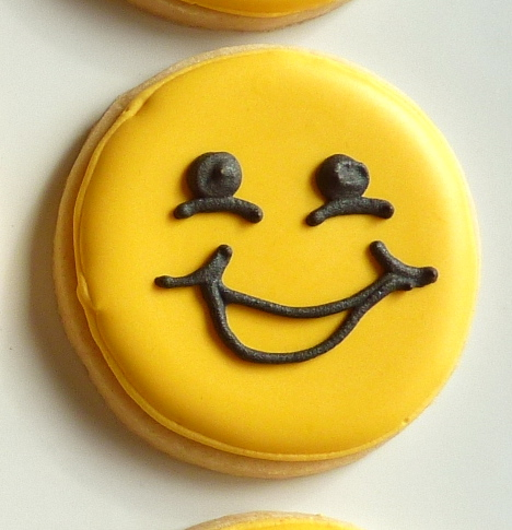 how to make smiley face cookies