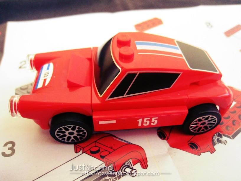 Just Sharing 文の分享站: Shell LEGO Ferrari Miniature - 250 GT ...