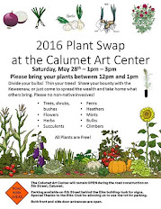 Calumet Art Center Plant Swap Saturday, May 28