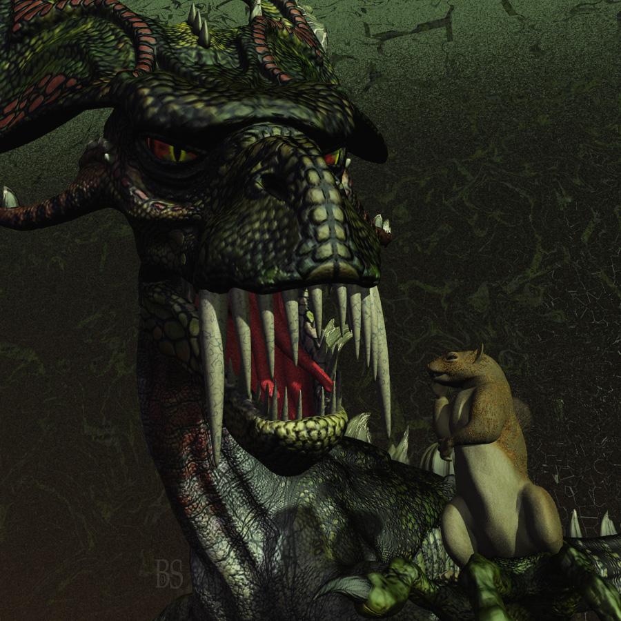 Bo's Dragon Lore: Nidhogg and Ratatosk