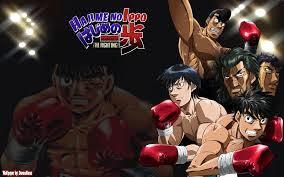 Poster anime Hajime No Ippo