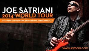 Joe Satriani, el héroe de la guitarra