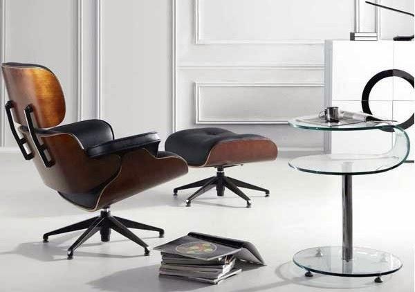 Arte h bitat tu tienda de muebles sill n y ottoman for Replicas mobiliario diseno