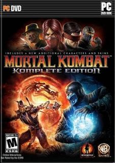 Download Mortal Kombat Komplete Edition PC (2013)