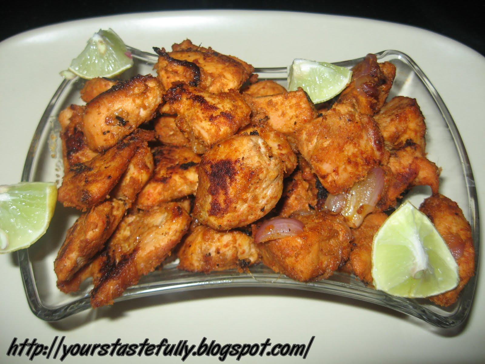 Yours Tastefully: Chicken Tikka