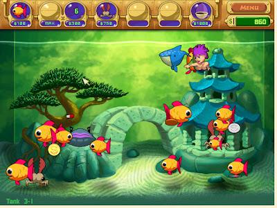 Free download Insaniquarium Deluxe PC game Gambar1