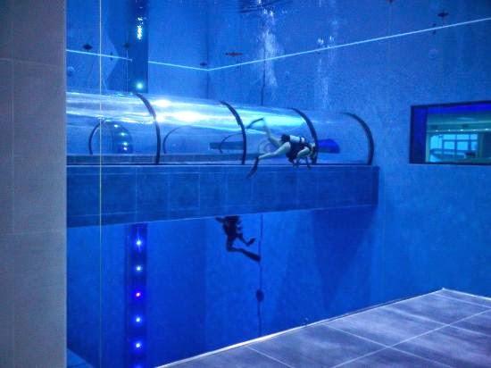 Alternativas para cuidar el medio ambiente la piscina m s for Piscina mas profunda del mundo
