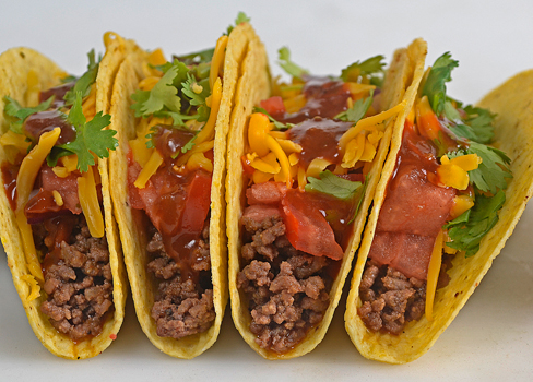 Behind the Bites: Taco Seasoned Ground Beef