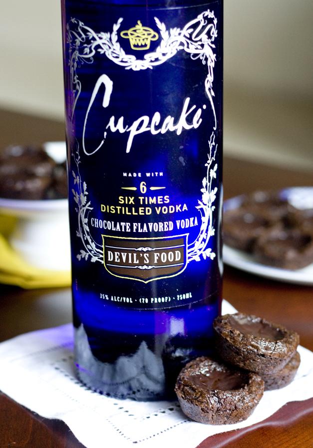 Chocolate Cake Vodka Pudding Shots