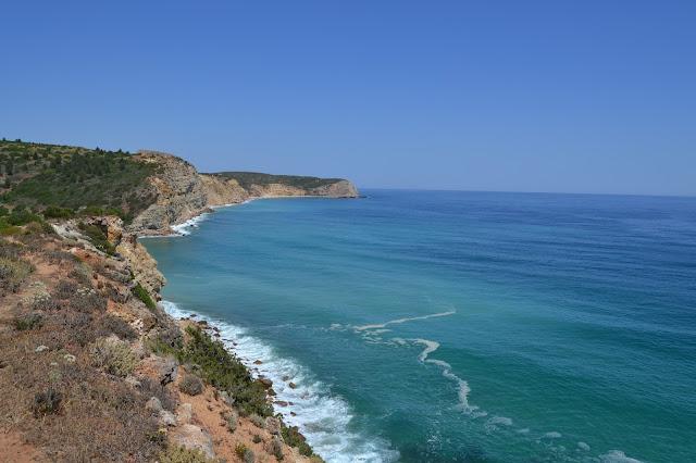 Senderismo por la playa de Bocas do Rio, Algarve