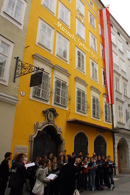 Mozart's Birthplace Geburtshaus