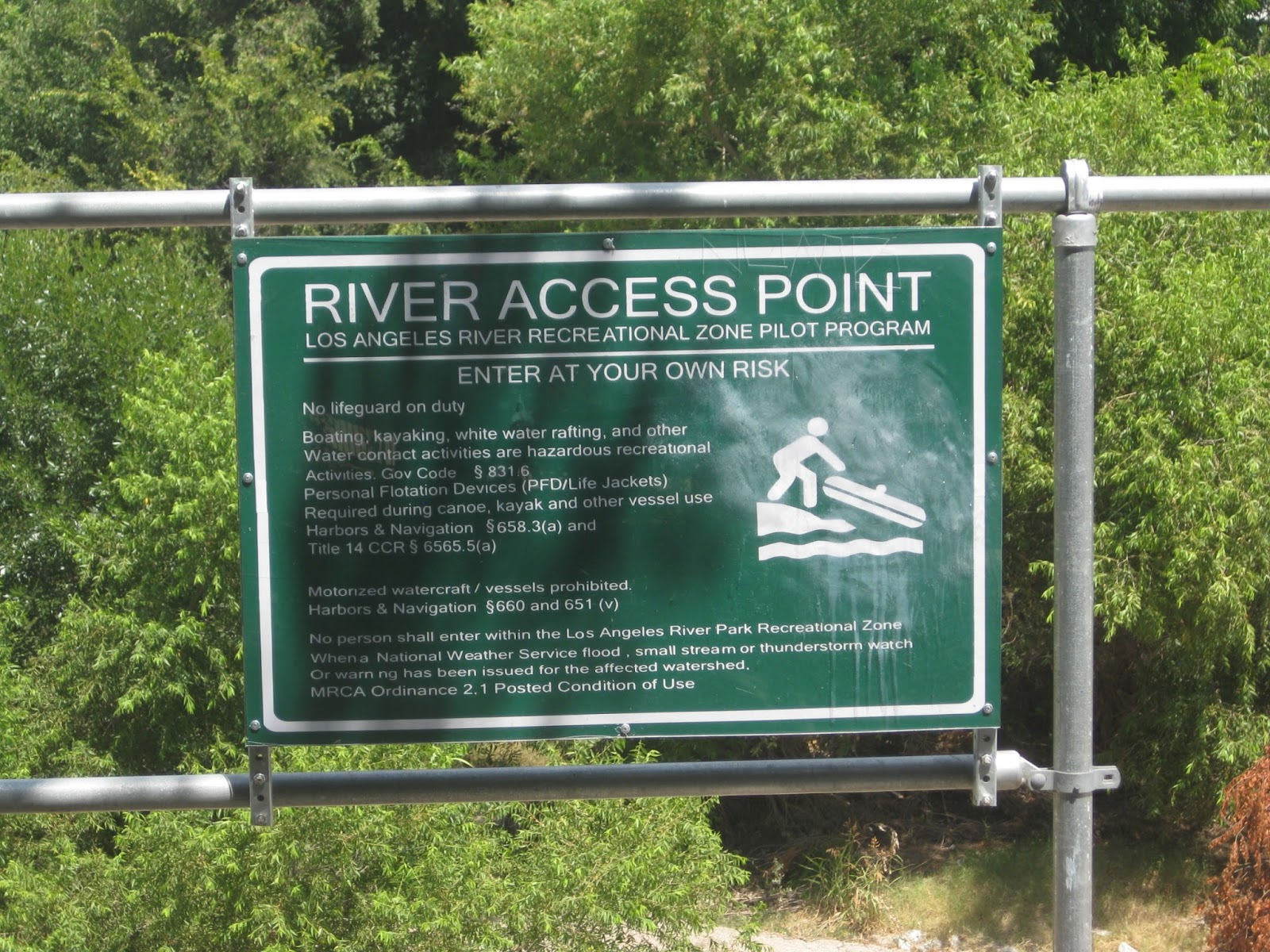 Kayaking The Los Angeles River Glendale Narrows August - Los angeles river kayak map