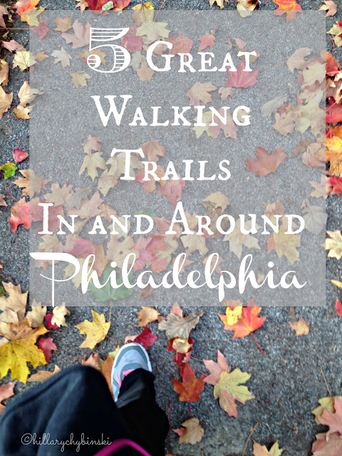 5 Great Walking Trails In and Around Philadelphia