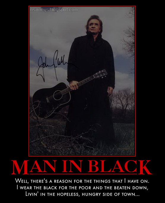 johnny cash the man in black essay Free essay: most of us know of johnny cash, the man in black but do we truly  know who he is, the legend in the darkness not many are able to answer with a.